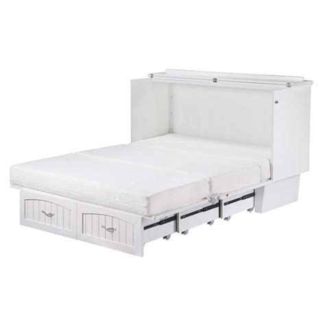murphy chest bed atlantic furniture nantucket queen murphy bed chest in