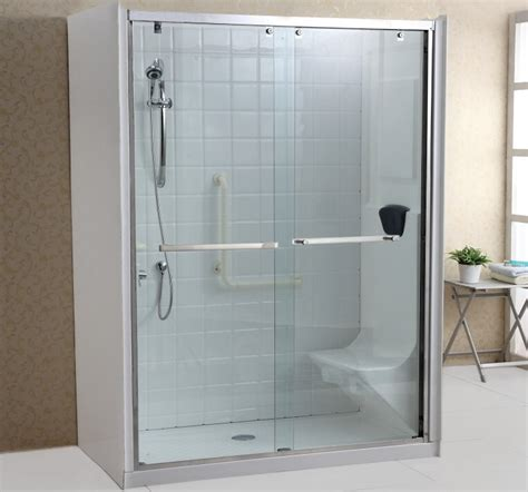 Shower Enclosure With Seat by 2 Sided Shower Enclosure With Seat Buy Walk In Shower