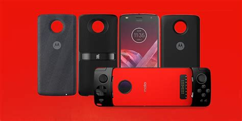 Moto Mods moto z2 play and new moto mods officially announced