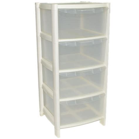 plastic chest of drawers b m plastic large tower storage drawers chest unit with wheels