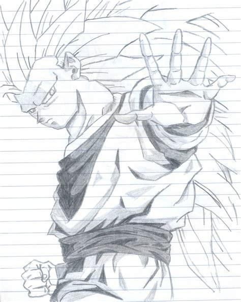 dibujos a lapiz de goku 2017 dibujos de goku a lapiz imagui