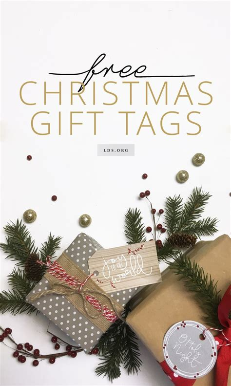 inspirational christmas gift give your gifts an inspirational touch with these printable gift tags lds being a