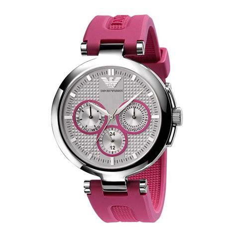 emporio armani ar0737 pink sports rubber