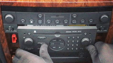 opel omega 2015 how to remove install siemens ncdc 2013 2015 radio