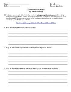 themes in fahrenheit 451 worksheet answers 1000 images about ray bradbury lessons for 8th grade on