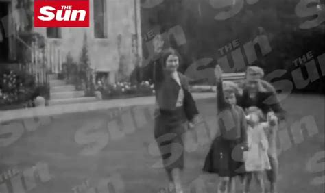 film queen nazi salute buckingham palace reacts with anger at footage of young