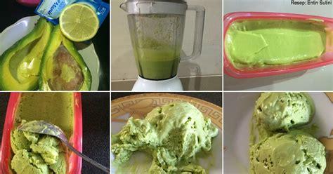 cara membuat oralit sachet ini dia cara praktis membuat es krim alpukat yang lezat