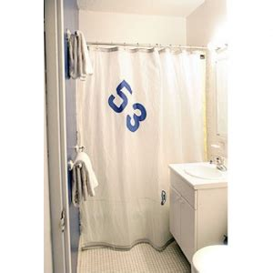 sailcloth shower curtain spinnaker shower curtain in white sailcloth
