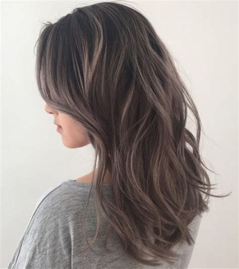 brown hair with grey highlights 40 shades of grey silver and white highlights for eternal