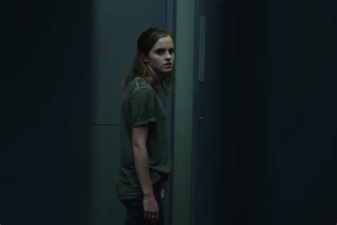 emma watson on the circle tom hanks watches emma watson too closely in this new