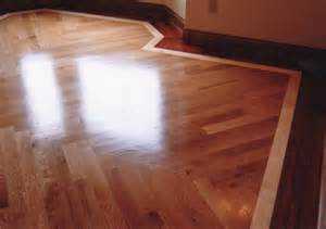 gateway flooring oak hardwood with cherry border in