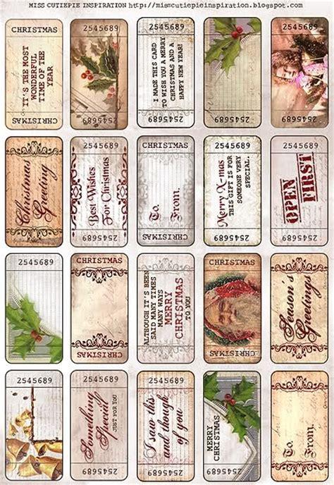 printable vintage tags free 7 best images of vintage christmas printables free