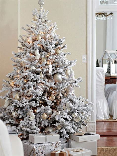 white frosted tree beautiful ideas to deck up your frosted tree