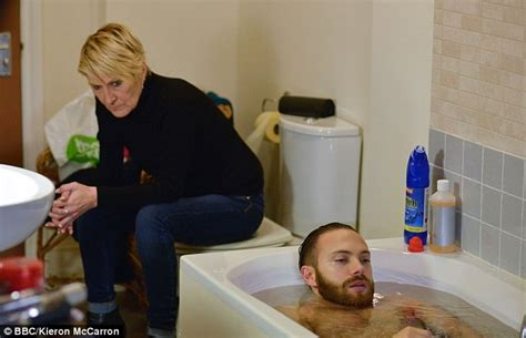rape in bathroom shirley carter tries to drown dean on eastenders jim