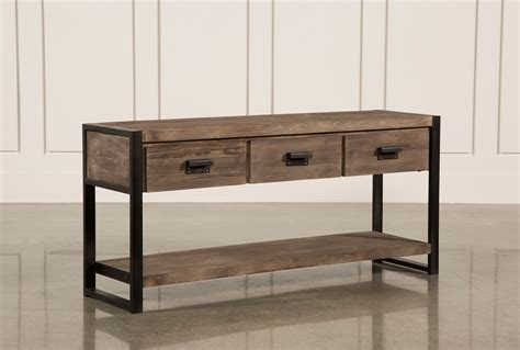 sofa table prescott sofa table living spaces
