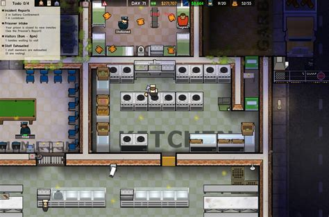 Prison Architect Kitchen by Steam Community Guide Room Sizes A Reference