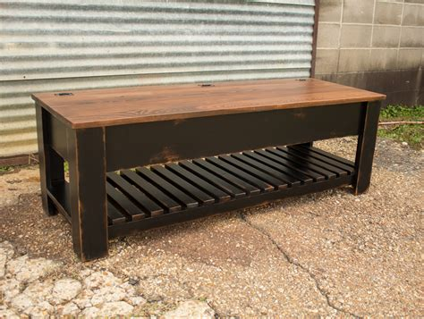 Carencro Style Shoe Bench