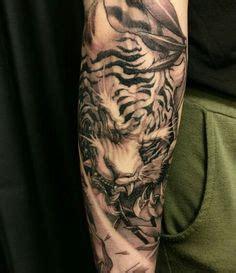 full chest tigers tattoo chronic ink chronic ink tattoo toronto tattoo chest to half sleeve