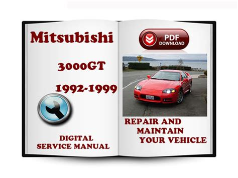 auto repair manual free download 1996 mitsubishi 3000gt interior lighting mitsubishi 3000gt 1992 1996 service repair manual download manual