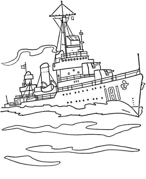 destroyer coloring pages bluebonkers armed forces day coloring page sheets us