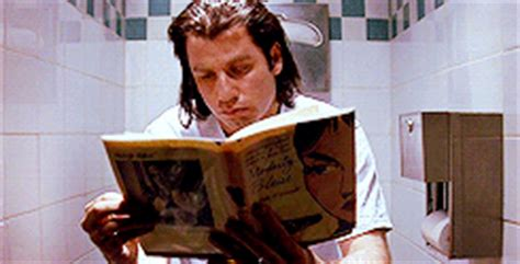 Chagne Shower Gif by 5 Pulp Fiction Fan Theories That Will Completely Change