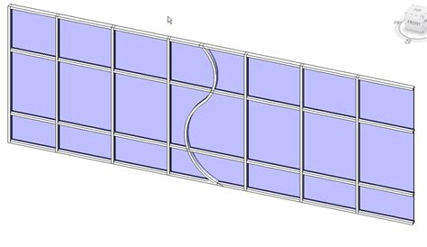 curtain wall window revit revitcity com trying to create curved mullions inside a