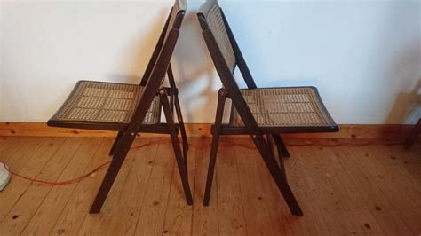 antique occasional chairs uk vintage matching pair rattan folding occasional chairs