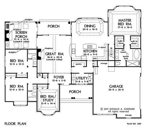 peyton house plan home plan the peyton by donald a gardner architects