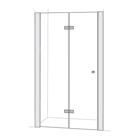 bi fold shower screens bath buy folding wall to wall shower screens in australia