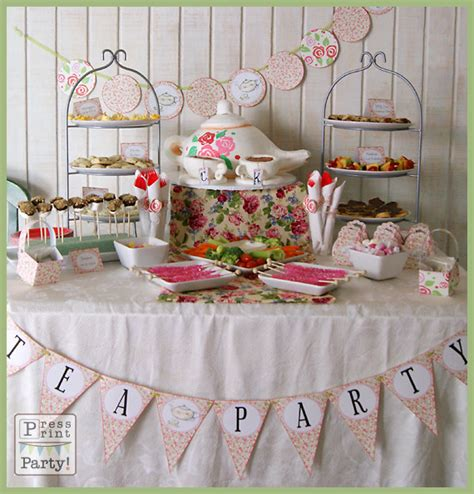 tea baby shower decorations best baby decoration
