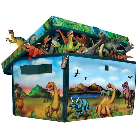 dinosaur box dinosaur storage box playmat the dinosaur farm