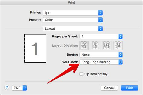 how to print a two sided document using microsoft word or how to print documents double sided on mac