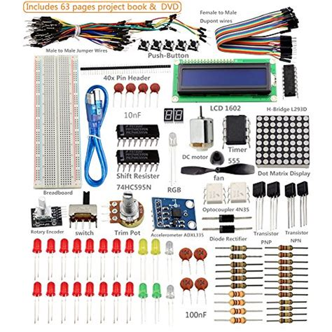 tutorial arduino uno r3 sunfounder project super starter kit with tutorial book