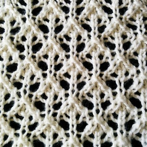 difficult knitting patterns the buds and lattice lace stitch that looks intricate