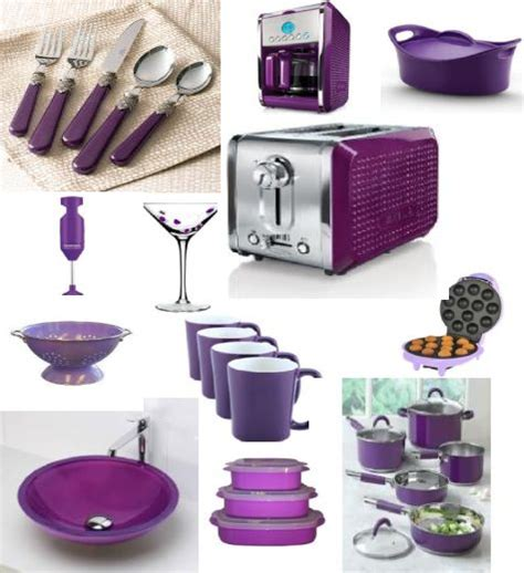 10 ideas about purple kitchen decor on