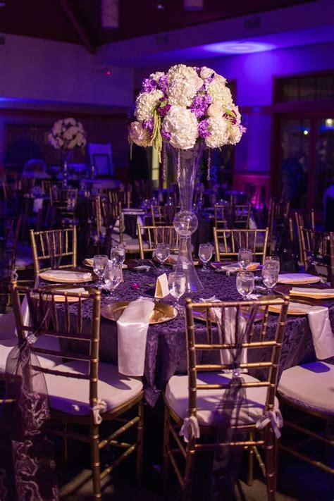 purple and gold wedding decor 28 images it s raining