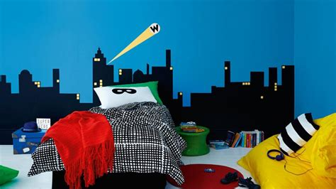 superhero bedrooms kids bedrooms how to create a superhero bedroom dulux