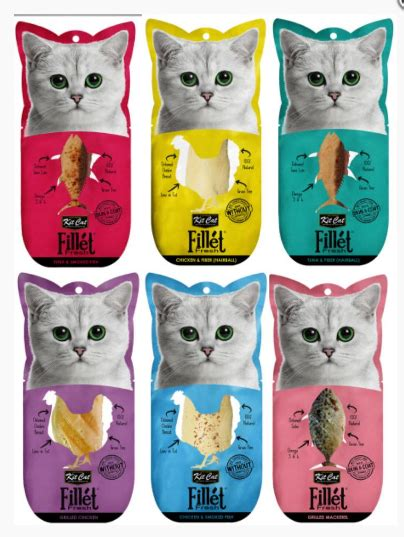 Sale Cat Snack Kitcat Fillet Tuna Smoked Fish 30gr welcome to benjipet