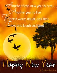 another fresh new year to live laugh and give happy new year card prokerala greeting