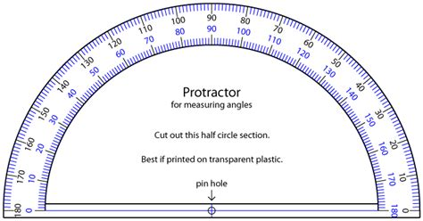 printable protractor printable protractor cliparts co