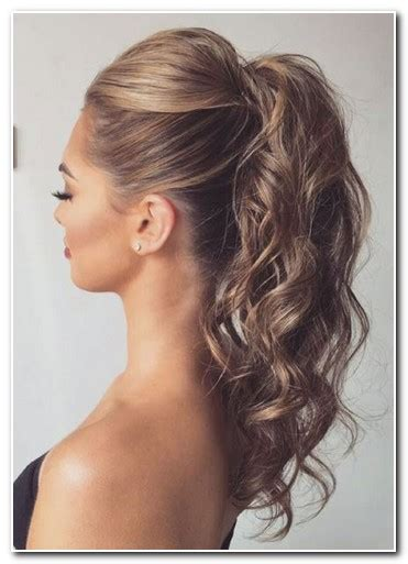 hairstyles for shoulder length hair pony tails cute ponytail hairstyles for medium length hair new