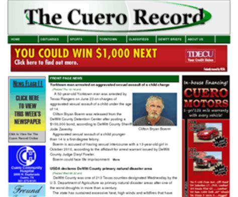 cuero obituaries cuerorecord the cuero record