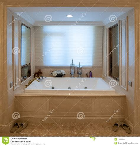 square bathtub stock image image of filtering luxurious