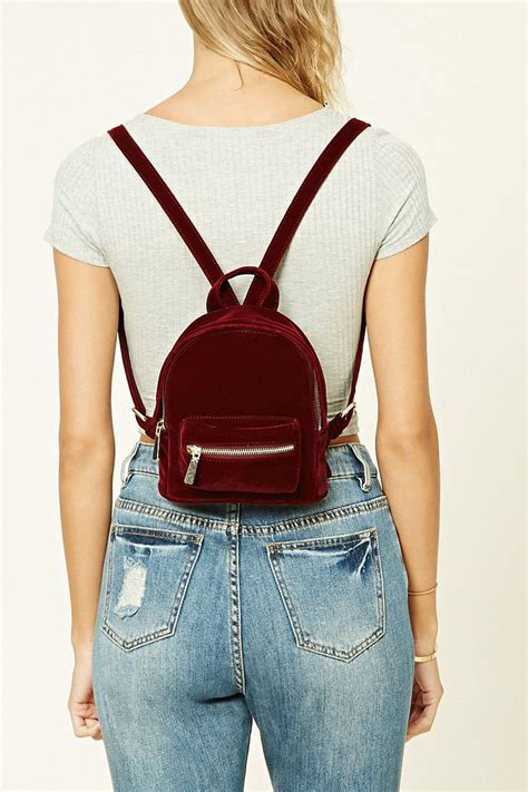 Velvet Mini Backpack velvet mini backpack threads backpacks