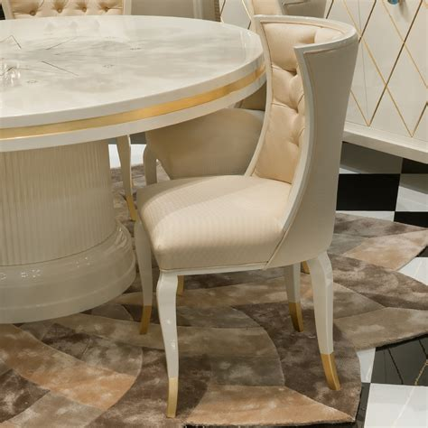 Modern High Dining Table High End Modern Ivory Lacquered Dining Table Set Juliettes Interiors