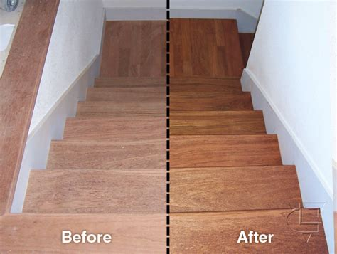 Refinished Hardwood Floors Before And After Before And After Oakland Wood Floors