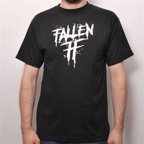 Tshirt Fallen Black fallen wrath t shirt black skate t shirts from