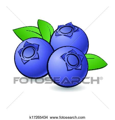 blueberry clipart clipart of blueberry k17265434 search clip
