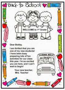 New Years Break Letter classroom freebies too back to school welcome letter and