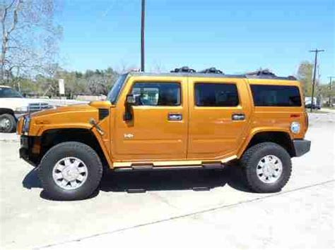 automobile air conditioning service 2006 hummer h2 windshield wipe control find used 2006 hummer h2 limited edition quot orange quot 4x4 in league city tx united states for us